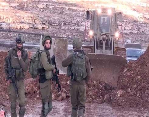 ببوابة حديدية.. إسرائيل تعزل 7 بلدات فلسطينية في الضفة