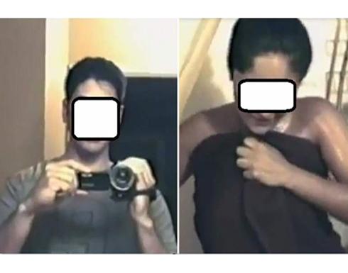 اختطاف فنانة شهيرة وتصويرها عارية تمامًا