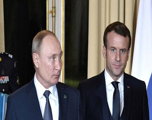 بوتين وماكرون: اغتيال سليماني قد يؤجج الوضع في المنطقة