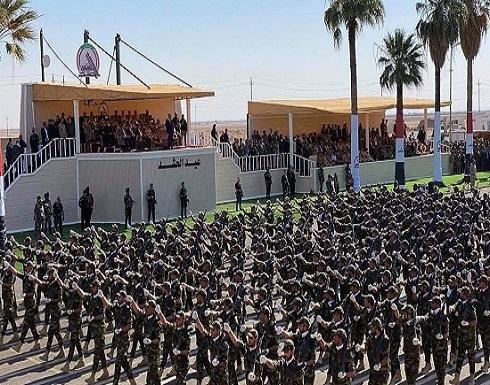 استعراض عسكري للحشد الشعبي في العراق.. بأسلحة إيرانية
