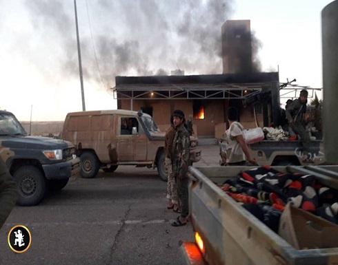 قوات حكومة الوفاق تسيطر على قاعدة عسكرية جنوب ليبيا