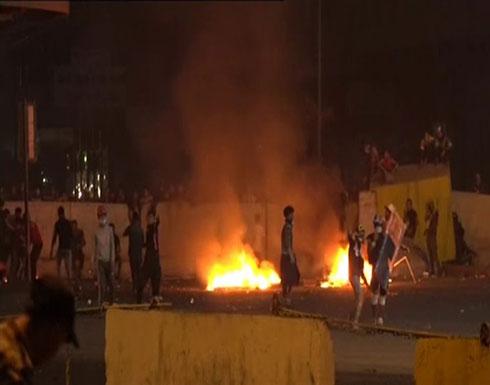 بالفيديو : سقوط 5 قذائف هاون في المنطقة الخضراء ومحيطها في بغداد