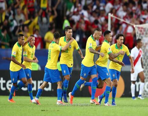 البرازيل تعبر بيرو نحو اللقب التاسع في كوبا أمريكا