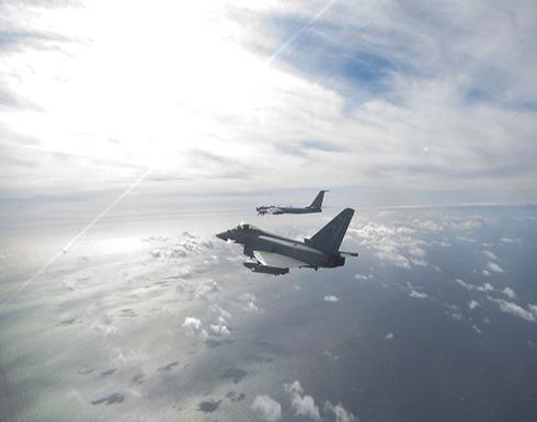 بريطانيا تعترض مقاتلات روسية اقتربت من مجالها الجوي