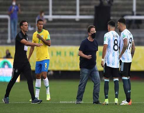 فضيحة كروية.. قرار البرازيل الغريب يوقف مباراة الأرجنتين