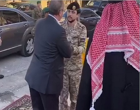 بالفيديو : ولي العهد يزور بيت عزاء الدكتور موسى الكيلاني