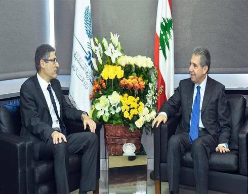 """لبنان.. """"لقاء مجاملة"""" بين وزير المالية ومسؤول بصندوق النقد"""