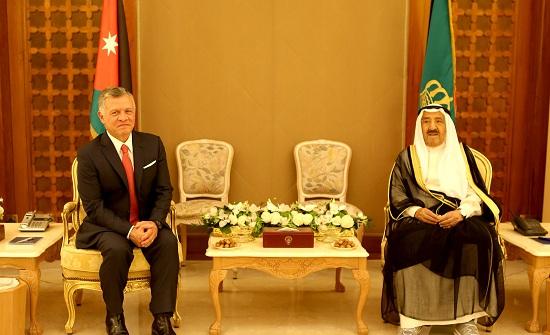 تفاصيل لقاء الملك عبدالله مع الشيخ صباح الأحمد الجابر الصباح