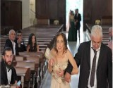 انفجار بيروت.. فيديو يوثق الرعب خلال حفل زفاف بالكنيسة