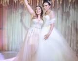 شقيقة ساندي تخطف الأنظار في زفافها – بالصور