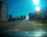 انفجار نيزك كبير شرق روسيا - فيديو