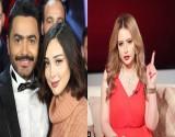 بالفيديو ..مي العيدان: قصة حب تامر حسني مع زوجته كاذبة!