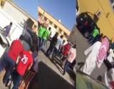 بالفيديو..كويتي يتلقى عقابًا قاسيًا بعد ضربه لرجل مصري