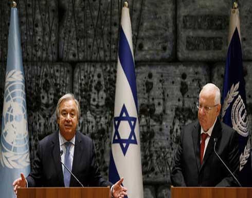 الرئيس الإسرائيلي مخاطبا محمود عباس: تعال ننسى الماضي