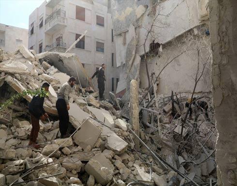 مقتل 5 مدنيين في غارات للنظام على مناطق سكنية بإدلب