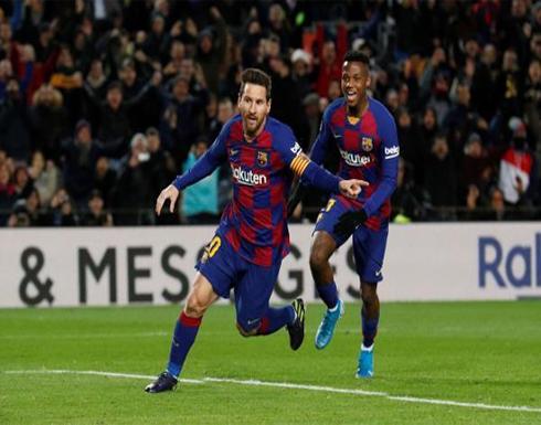 بالصور: ميسي يمنح سيتين انتصاره الأول مع برشلونة