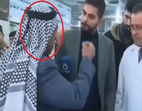 بالفيديو.. وفاة مسن عراقي أثناء مقابلة تلفزيونية على الهواء مباشرة