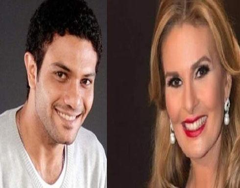 شاهد : يسرا بأحضان آسر ياسين في عيد ميلادها