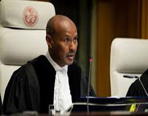 رئيس العدل الدولية: إيران تنتهك بنوداً في معاهدة التسلح