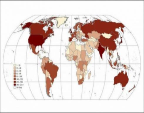 تفشي الأمراض المعدية في بلدان العالم أصبح يحدث أكثر من المعتاد