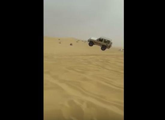 بالفيديو.. السعودية: حادث مروع بسبب التهور