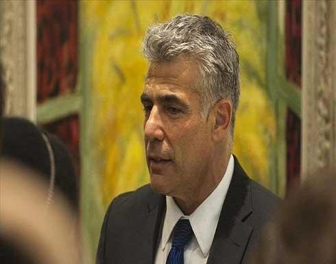"""لابيد: يجب منع تعاظم قوة """"حماس"""""""