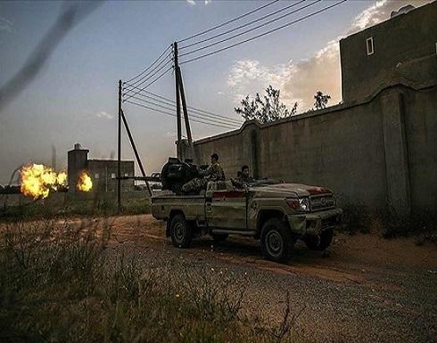 الجيش الليبي يستهدف تجمعات وآليات لحفتر جنوبي طرابلس