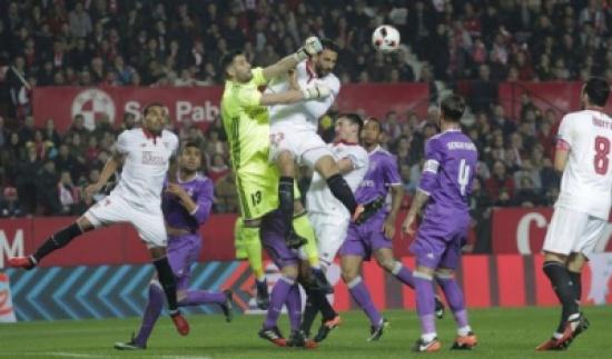 فيديو: ريال مدريد يفرض التعادل على إشبيلية ويعبر إلى ربع النهائي