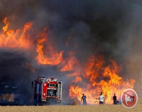33 حريق في اسرائيل بفعل الطائرات الورقية