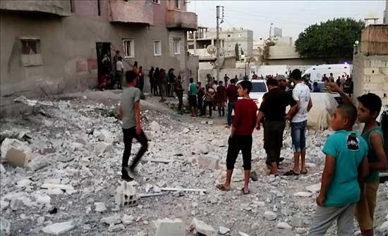 جرابلس السورية.. 5 جرحى إثر تفجير إرهابي