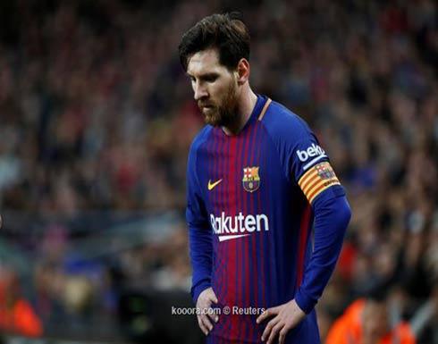 مسؤول في برشلونة لا يستبعد رحيل ميسي
