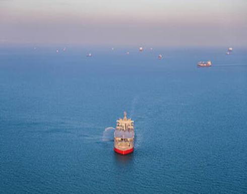 انفجار بسفينة في خليج عمان