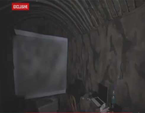 مشاهد داخل أنفاق كتائب القسام لأول مرة بعد الحرب الأخيرة على غزة .. بالفيديو