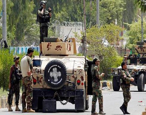 قتلى وجرحى بهجوم استهدف قاعدة للشرطة في أفغانستان