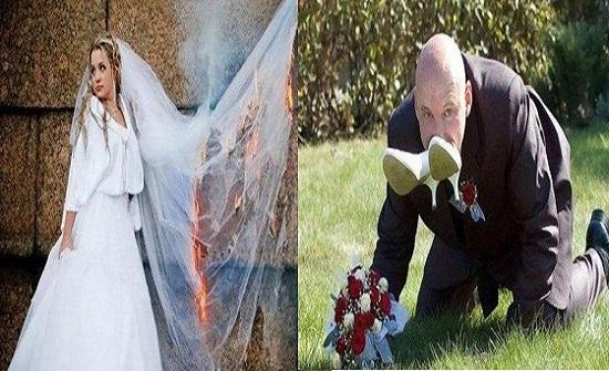 بالفيديو.. أغرب حفلات الزفاف في روسيا