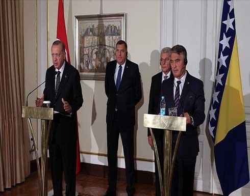 أردوغان يحذر من عواقب ترك أفغانستان لتنظيمات إرهابية