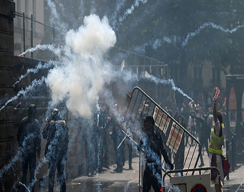 """فرنسا.. مظاهرات ضد وزير الداخلية الجديد """"المتهم بالاغتصاب"""""""