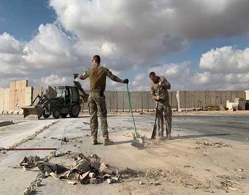 سقوط صاروخين على قاعدة عين الأسد في الأنبار