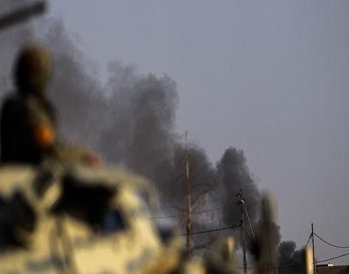 """قصف عراقي أمريكي فرنسي ضد """"داعش"""" على حدود سوريا"""