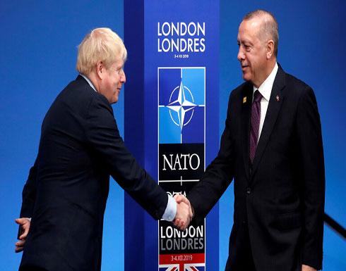 أردوغان وجونسون يبحثان التوتر الإيراني الأمريكي وملفي سوريا وليبيا