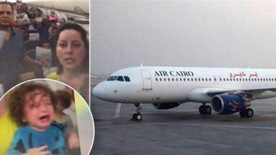 بالفيديو - حالة غضب على متن طائرة مصرية... لهذا السبب