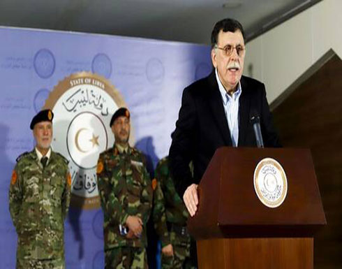 """السراج يدعو لمواصلة تقديم """"التضحيات"""" في المعركة ضد الجيش الليبي بقيادة حفتر"""
