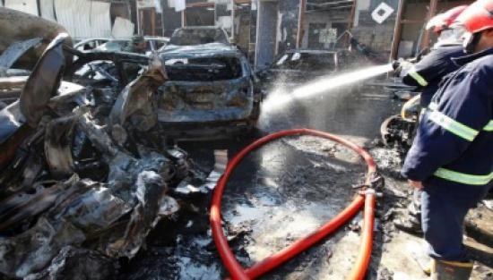 قتلى وجرحى بتفجير في حي صناعي جنوب بغداد