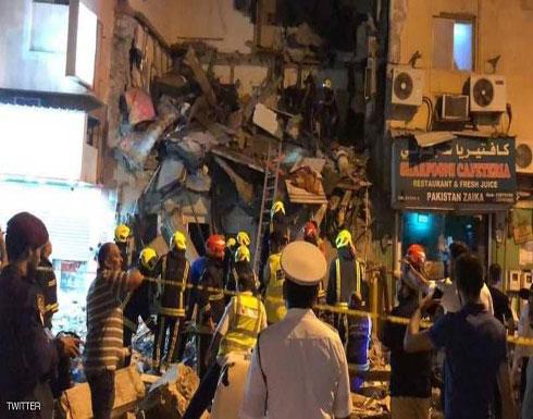 إصابات في انهيار مبنى في العاصمة البحرينية (فيديو)