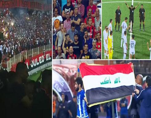 أزمة بين العراق والجزائر بسبب هتافات «تمجد» صدام حسين