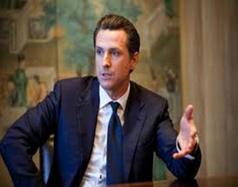 """حاكم كاليفورنيا يتحدى ترامب.. و""""يشعل"""" حدود المكسيك"""