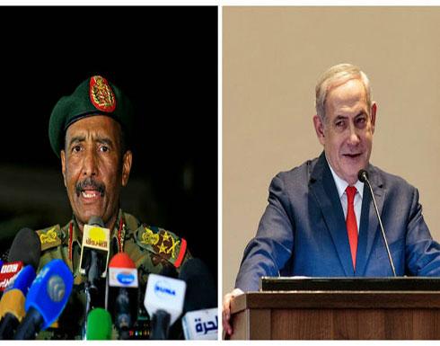 نتنياهو يلتقي البرهان ويبحثا تطبيع العلاقات بين إسرائيل والسودان
