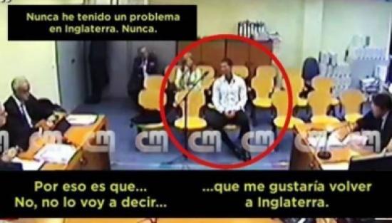 """فيديو """"مسرب"""" يكشف مشاهد من محاكمة رونالدو!"""