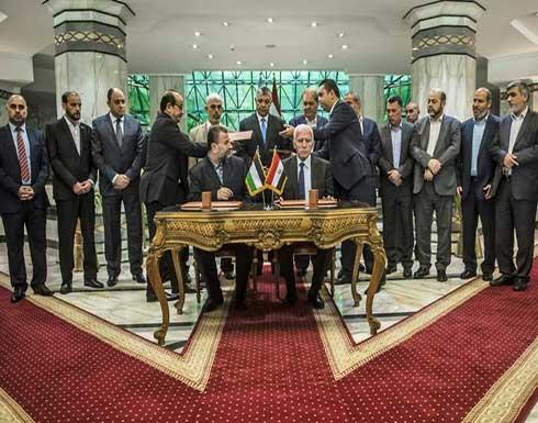 """قياديان بـ""""حماس″ يصلان غزة بعد زيارة للقاهرة تخللها توقيع اتفاق المصالحة"""