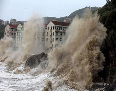 قتلى ومفقودون بإعصار قوي شرقي الصين